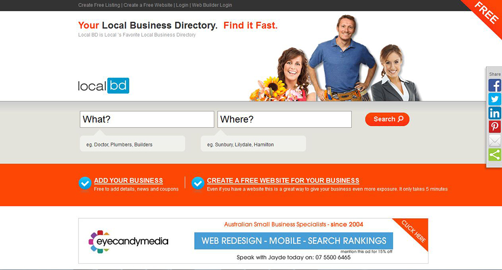 Business Directories Site